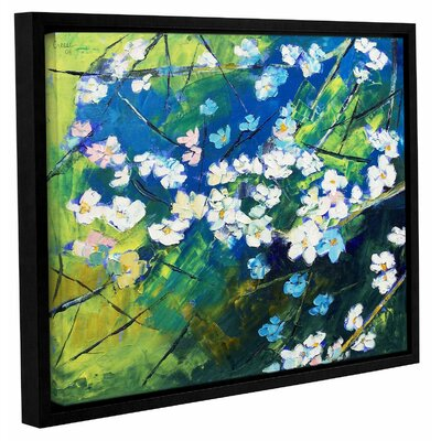 Cherry Blossom Framed Painting Print