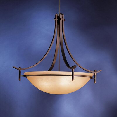 Smithshire 5-Light Inverted Pendant Finish: Olde Bronze