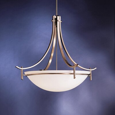 Smithshire 5-Light Inverted Pendant Finish: Antique Pewter