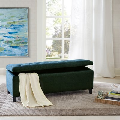 Alcott Hill Holoman Upholstered Storage Entryway Bench