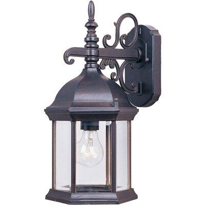 Shifflett 1-Light Outdoor Wall Lantern Size: Large