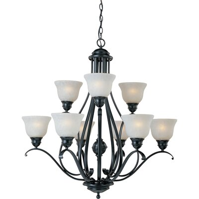 Sparland 9-Light Shaded Chandelier