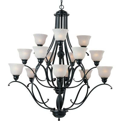 Sparland 15-Light Shaded Chandelier