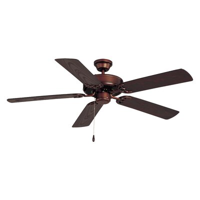 Allie 52 Outdoor 5-Blade Ceiling Fan