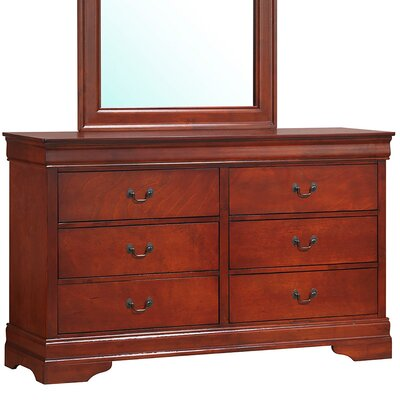 Alma 6 Drawer Dresser
