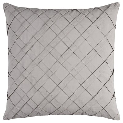 Howell Cotton Throw Pillow Color: Natural