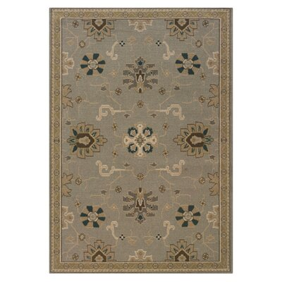 Perrin Grey/Blue Area Rug Rug Size: Rectangle 910 x 1210