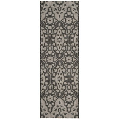 Regal Black/Beige Area Rug Rug Size: Rectangle 67 x 96