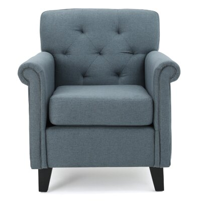 Sansom Arm Chair Upholstrey: Blue