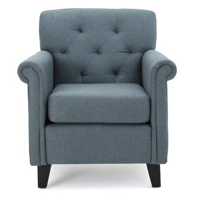 Sansom Armchair Upholstery: Blue