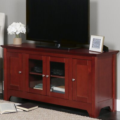 Clarissa TV Stand Finish: Walnut Brown
