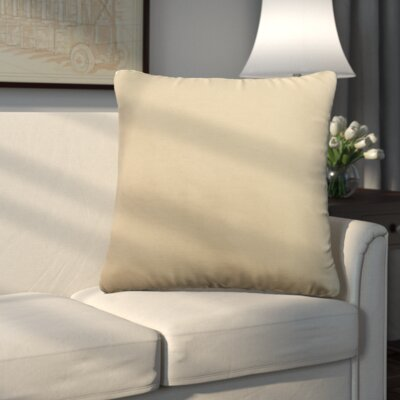 Uniontown Prefilled Outdoor Throw Pillow Color: Tan