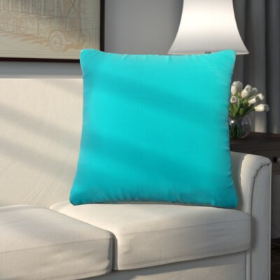 Uniontown Prefilled Outdoor Throw Pillow Color: Pool