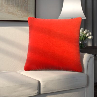 Uniontown Prefilled Outdoor Throw Pillow Color: Mojo