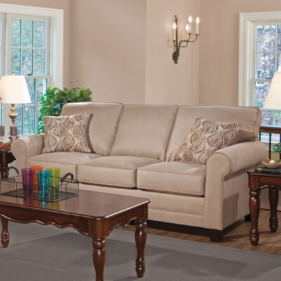 Serta Upholstery Palmerton Sofa Upholstery: Jitterbug Grey