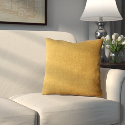 Lakemoore Outdoor Throw Pillow Color: Husk Texture Ginger