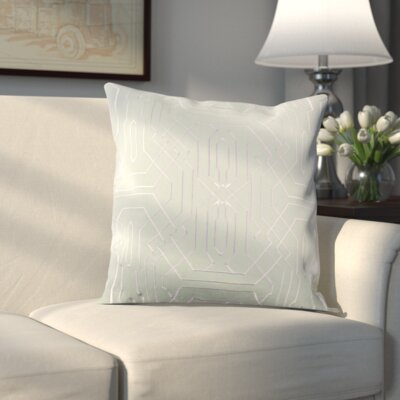 Halton Pillow Cover Size: 18 H x 18 W x 1 D, Color: Green