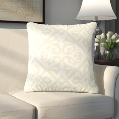 Haysville Modern Moroccan Outdoor Throw Pillow Size: 18 H x 18 W x 4 D, Color: Mint
