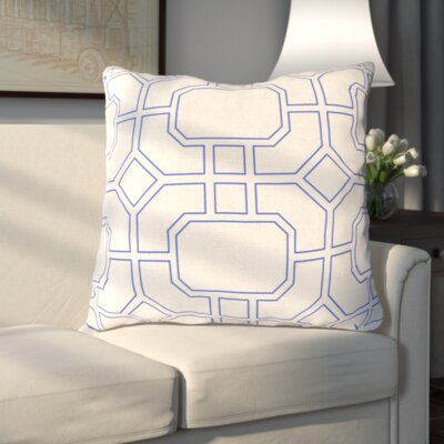 Haysville Smooth Lined Intersection Outdoor Throw Pillow Size: 20 H x 20 W x 4 D