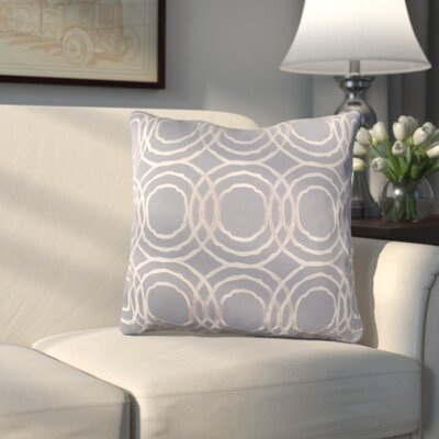 Meader Throw Pillow Color: Gray