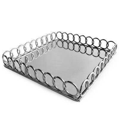 Silvan Mirrored Tray