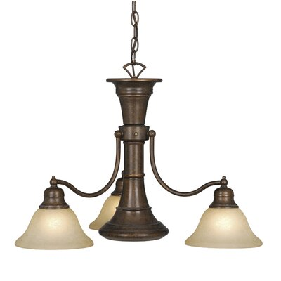 Omaha 4-Light Shaded Chandelier Finish: Royal Bronze