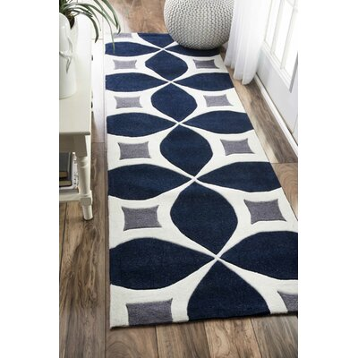 Alcott Hill Lakemont Navy Area Rug