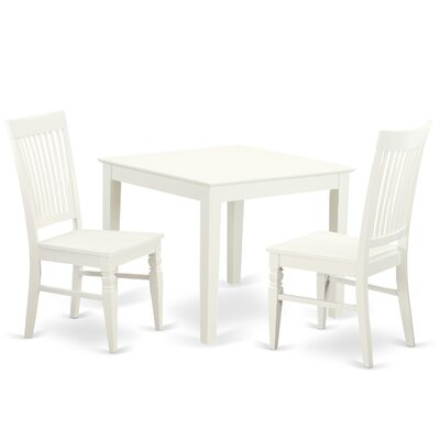 Cobleskill 3 Piece Dining Set