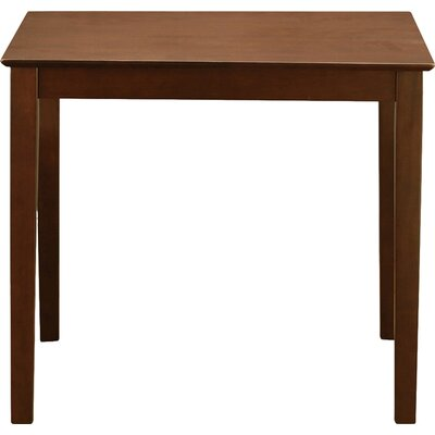 Givens Counter Height Dining Table Finish: Mahogany
