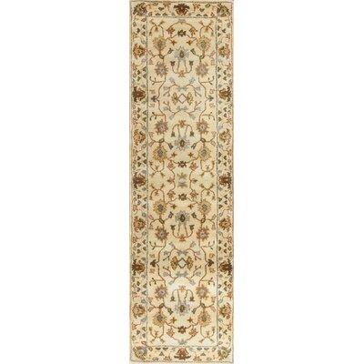 Auer Ivory Tabriz Rug Rug Size: 33 x 53