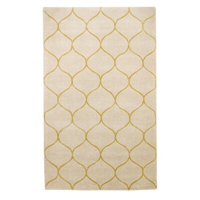 Bog Water Harmony Ivory Area Rug Rug Size: Rectangle 33 x 53