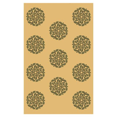 Carruth Sage Indoor/Outdoor Area Rug Rug Size: Rectangle 81 x 112