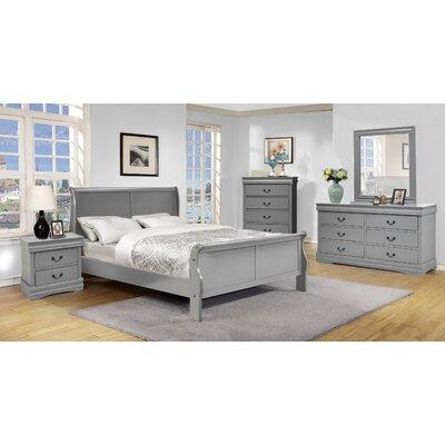 Struthers Queen Sleigh 5 Piece Bedroom Set