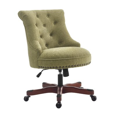 Snyder Desk Chair Color: Green