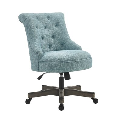 Snyder Desk Chair Color: Blue