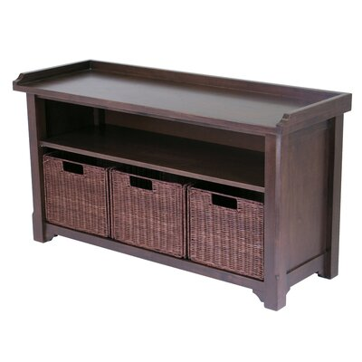 Alasan Wooden Storage Bench