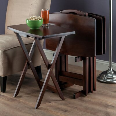 5-Piece Regalia Tray Table Set