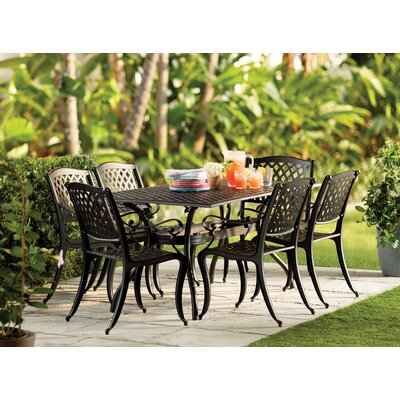 Alcott Hill Castle Heights  7 Piece Dining Set