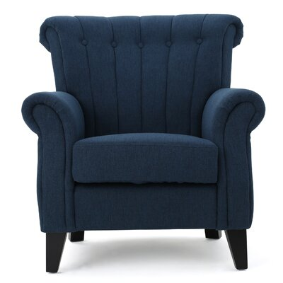 Fleetwood Arm Chair Upholstery: Dark Blue