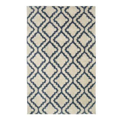 Dumbarton Beige/Blue Area Rug Rug Size: Rectangle 8 x 10