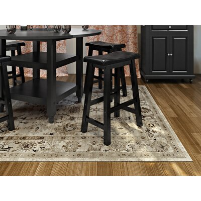 Broadview Beige Area Rug Rug Size: Rectangle 3'9