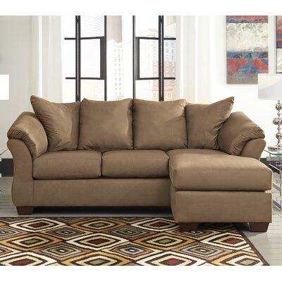 Huntsville Sectional Upholstery: Mocha