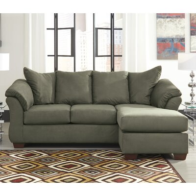 Huntsville Sectional Upholstery: Sage
