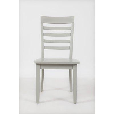 Dunster Ladder Back Side Chair (Set of 2) Finish: Dove