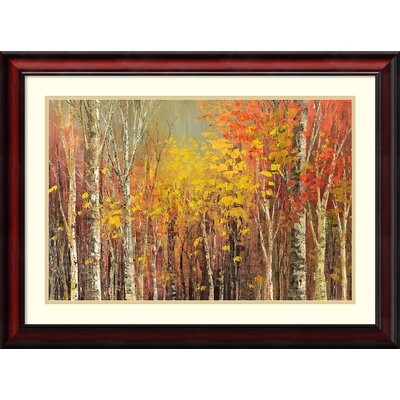 Tangled Colors (Forest) Framed Painting Print