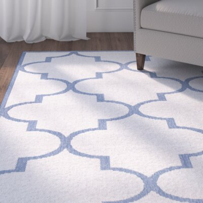 Sidell Blue Area Rug Rug Size: 7'10