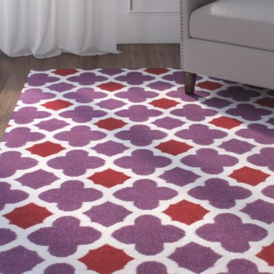 Girardville Lilac Purple Area Rug Rug Size: Runner 26 x 8
