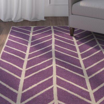 Girardville Lilac Area Rug Rug Size: 5' x 7'6
