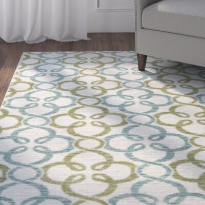 Fraserburgh Blue/Green Area Rug