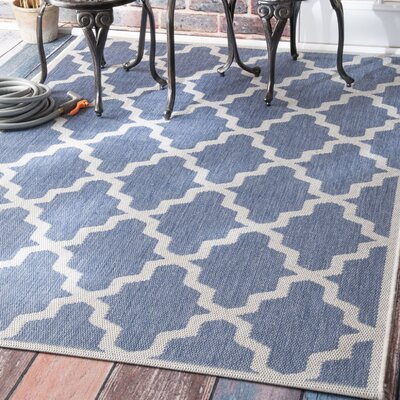 Sidell Blue Area Rug